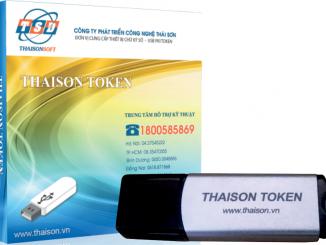 Chữ ký số từ công ty Thái Sơn