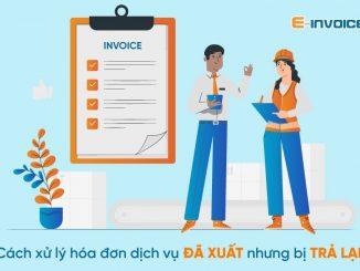 cách xử lý hóa đơn
