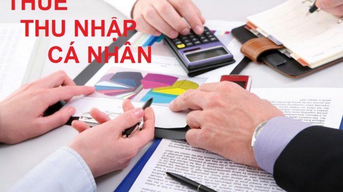 Báo cáo thuế thu nhập cá nhân hàng tháng