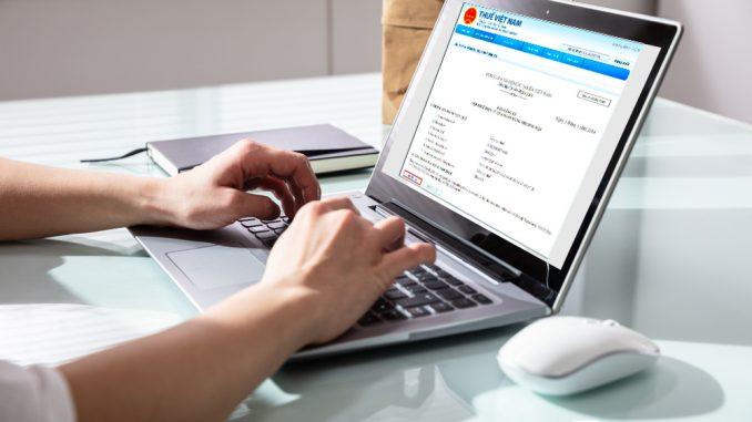 Nộp thuế điện tử