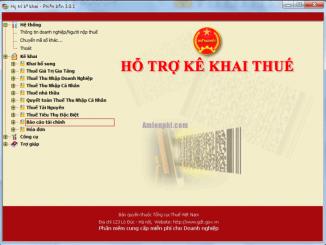 Báo cáo tình hình sử dụng hóa đơn trên phần mềm htkk