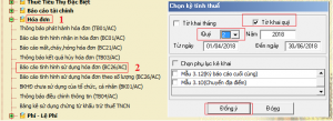 Hướng dẫn lập báo cáo tình hình sử dụng hóa đơn trên phần mềm HTKK