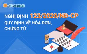 Quy định sử dụng hóa đơn điện tử theo Nghị định 123
