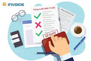 Quy định về thu hồi hóa đơn điện tử đã kê khai