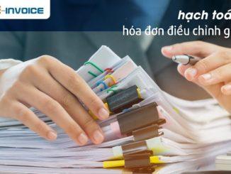 Hướng dẫn hạch toán hóa đơn điều chỉnh giảm doanh thu