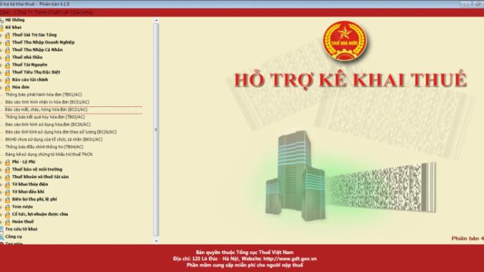 Hướng dẫn lập báo cáo mất hóa đơn trên phần mềm HTKK